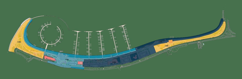 Yachthafen Burgtiefe Fehmarn - Die neue Promenade