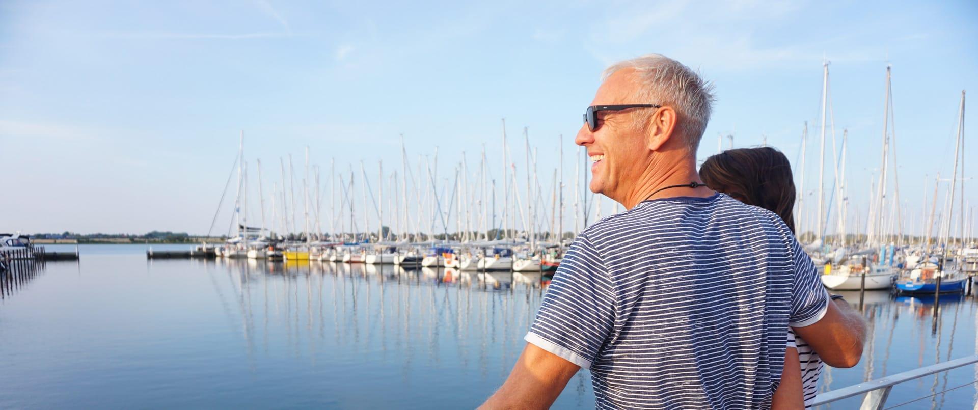 Yachthafen Burgtiefe Fehmarn - Hier liegen Sie im Meer richtig